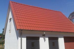 Dachpfannenblech - Dach erneuert